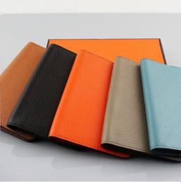 $enCountryForm.capitalKeyWord Australia - Hot sale Brand Genuine Leather Passport Holder Men Wallet High Quality Real Leather Multiple ID Card Holder wallet Passport Cover