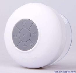 Phone Types Australia - Wholesale shower Portable waterproof speaker mini wireless type speaker handsfree music sound for iPhone android smart phone