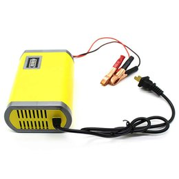 $enCountryForm.capitalKeyWord Australia - YX1206 - 2 220V Battery Charger 12V   6A Output with Yellow Light Indicator Auto Power Supply Adaptor for Car Motorcycle SUV House Truck