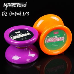 metal yoyo for kids NZ - Magicyoyo D2 Professional Responsive Yoyo Ball Butterfly Shape Spin Toy For Kids Beginners Top Quality