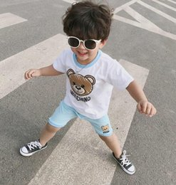 Shirt clearance online shopping - Summer clearance Baby Boys Girls Set Clothes Fashion Cotton Suit For A Boy T Shirt Shorts Children S Clothing