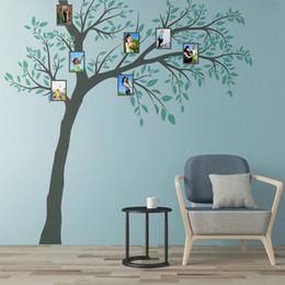 $enCountryForm.capitalKeyWord NZ - New 3D DIY Family Tree Photo Frame Large Wall Sticker 260*270cm Home Decor Living Room Poster Self-adhesive PVC Leaves Art Mural