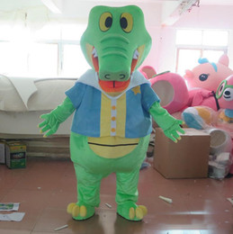 Green Suits For Sale Australia - Hot sale green alligator crocodile mascot costume suit for adult to wear for sale