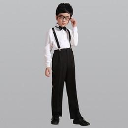 Boys Fashion Formal Suits Australia - 2018 Fashion Boy Kid 4pcs set Gentleman Clothing Tops Shirt leisure clothing sets Suit formal clothes Blazers Suits