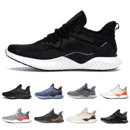 Núcleo Preto Alphabounce Além dos homens sapatas Running Raw Grey Hi Res Laranja carbono linho Ecru Matiz homens mulheres esportes de designer sneakers 36-45 em Promoção