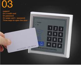 Rfid Entry Card Australia - new in stock 5YOA RFID Toegangscontrole Systeem Apparaat Machine Beveiliging Proximity Entry Deurvergrendeling Kwaliteit free shipping DHL