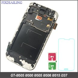$enCountryForm.capitalKeyWord NZ - wholesale High Quality LCD for SAMSUNG Galaxy S4 LCD Display with Frame GT-I9505 I9500 i9505 i337 Touch Screen Digitizer
