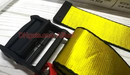 Letter m beLt buckLes online shopping - 200cm Designer Belts High Quality Canvas Yellow Belt White Blets Mens Womens Well made Designer High Street Letter off buckle Ceinture