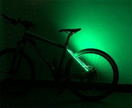 eco light led UK - Plastic LED Bike Lights Eco Friendly DIY Popular Bicycle Tail Light Waterproof Portable Easy To Install Free Shipping 12rdI1