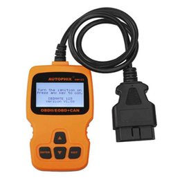 Wholesale 2018 Auto Scanner Autophix OM123 OBD OBD2 EOBD CAN Hand held Engine Analyzer OM Car Diagnostic Tool Russian Portuguese