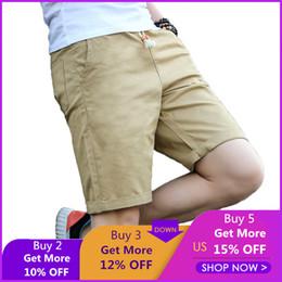 $enCountryForm.capitalKeyWord Australia - New Shorts Men Summer Cotton Casual Shorts Elastic Sea Boardshorts Surfings Solid Short Men's Fashion Wear Plus Size M-5xl 254 MX190718