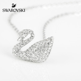 SwarovSki croSSeS online shopping - Swarovski SWAN Classic Swan Fashion Elegant Necklace