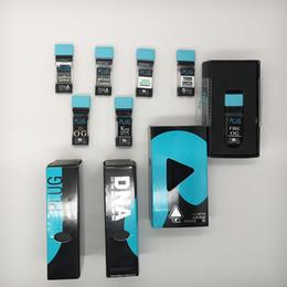 Mod stickers online shopping - Empty Plug Play Vape Pod Tanks For Thick Oil mm PlugPlay Vape Mods ml Ceramic Coils Vape Cartridges Plug Play Vapor Pods Flavor Stickers