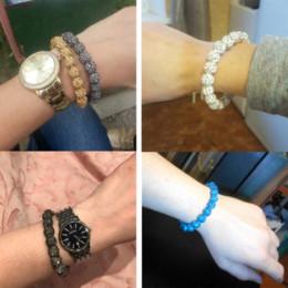 Shambala Crystals Australia - Fashion Itenice Fashion Jewelry Handmade Crystal Shamballa Bangles Strand Shambala Charm Stone Chain Beads Bracelets For Women