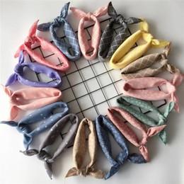 $enCountryForm.capitalKeyWord Australia - Fashion Plaid Dots Style Winter Pet Bandanas Cotton Washable Dog Bandanas Scarf Bowties Collar Pet Square Bib For Puppies Kitten