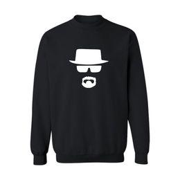 Broken Bad UK - 2019 Legend Heisenberg Sweatshirt Men Black Cotton Mens Hoodies And Sweatshirts Breaking Bad For Hip Hop Street Wear Xxs-4xl