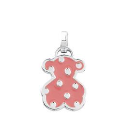 $enCountryForm.capitalKeyWord UK - DORAPANG NEW 100% 925 Sterling Silver Cute Bear Pink Sweet Pendant Bear 612634550 Sleek Minimalist Women Original Jewelry Ball