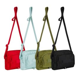 19SS Waist Bag Shoulder Bags Sup 46th Unisex Fanny Pack Fashion Men Canvas Men Messenger Bags Shoulder Bag with tag on Sale