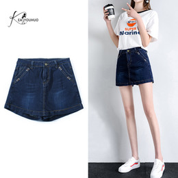 lady s short pants Canada - Summer Ladies Fashion Denim Shorts For Women Jeans Shorts Leisure Classic Women Summer High Waisted Pants