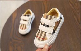 denim sneakers for girls 2020 - 2020NEW Children Shoes for Girls Fashion Kids Sneakers Elastic Band Denim Kids Shoes Jeans Low Flat Casual Sneakers m10