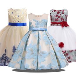$enCountryForm.capitalKeyWord Australia - Summer Party Princess Girl Clothes Wedding Costume Kids Dresses For Girls Bridesmaid Tutu Dress Elegant 10 12 Years Q190522