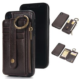 $enCountryForm.capitalKeyWord Australia - Luxury Genuine Leather Separable Back Case Magnetic Stand Flip Wallet Cover For iPhone XS MAX XR X 8 7 6 6s plus 5 5S SE