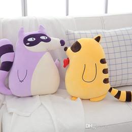 $enCountryForm.capitalKeyWord Australia - 20170723 New Year Hot Sale Cute Fox Pillow Doll Plush Toy For Girls Gift Of Free Shipping