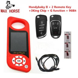 Key Programmer For Renault Australia - JMD Handy Baby II Auto Key Tool for 4D 46 48 G Chips Programmer Handy Baby 2 English Spanish Language in stock
