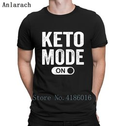 Pop Tees Australia - Keto Mode On T Shirt Latest Personality Fit Great Tshirt Men Summer Style Leisure Cotton Pop Top Tee