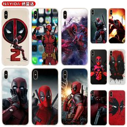 DeaDpool iphone case online shopping - Soft Phone Case For iPhone Pro X XR XS Max S Plus S S10 S11 Note Plus Huawei P30 Xiaomi Cover Hero Deadpool Clear