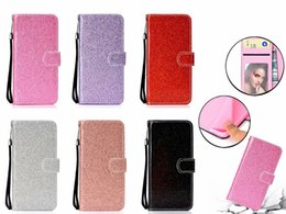 Sparkle powder online shopping - For Huawei P30 Pro Honor Lite V20 Bling Glitter Wallet Leather Case For Samsung A30 M20 M10 Sparkly Luxury Flip Cover Sparkle Powder