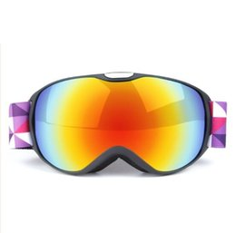 girls ski goggles UK - Children fashion new hot HD ski goggles anti-fog outdoor climbing goggles anti-fog and windproof children's ski glasses