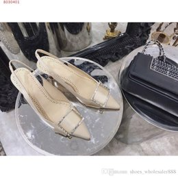 $enCountryForm.capitalKeyWord Australia - Show the new dress shoes imported silk shoes Good fashion matching of business dress heels sandals 5 cm