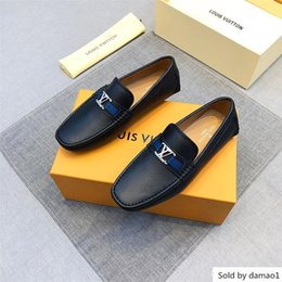 casual shoes luxury style Australia - mix 27 model Luxury style Men s Dress Casual ,Party Loafers Cowskin Single Slip On part Wedding,Italian Shoes designer l