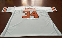 OklahOma state jersey online shopping - Men Oklahoma State cowboy Thurman Thomas College Jersey Size S XL or custom any name or number jersey
