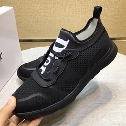 Breathable Mesh Mens Summer Shoes Australia - Men Shoes Sneakers Summer Breathable Sports Runner Top Quality Sports Casual Shoes Zapatos de hombre Mesh Fabric Mens Shoes