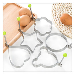 $enCountryForm.capitalKeyWord Australia - Mould Kitchen Shaper Rings Fried Egg Pancake Shaper Kitchen Tool Stainless Steel Heart Pratical Hot Sale Cute