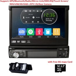 "$enCountryForm.capitalKeyWord Australia - Single 1 Din 7"" Universal Touch screen Car Monitor DVD Player With GPS Navi Auto radio Stereo Audio SD TV BT DAB+ RearCamera"