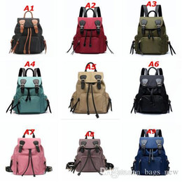 casual canvas women backpack red NZ - Canvasartisan Top Quality Canvas Women Backpack Casual College Bookbag Female Retro Stylish Daily Travel Laptop Backpacks Bag 8 Color