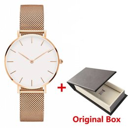 Women strip men online shopping - New Fashion Girls mens watch Steel strip mm women watches mm men watches Daniel watches Quartz Watch Relogio Feminino Montre Femme
