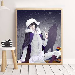 $enCountryForm.capitalKeyWord NZ - Bungo Stray Dogs Anime Canvas Prints Picture Modular Oil Paintings For Living Room Poster On The Wall Children Home Decoration