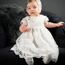 $enCountryForm.capitalKeyWord Australia - 1 Year Birthday Baby Girl Dresses For Baptism Baby Girl Christening Gowns Wedding Party Pageant Lace Dress Newborn Toddler Bebes J190528