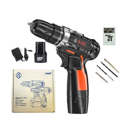 $enCountryForm.capitalKeyWord Australia - 12V Cordless Drill Screwdriver Driver Hand Electric Drills power drill machine With Power Electrical Tools Rechargeable