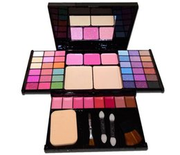 makeup sets box UK - Makeup Set Box Cosmetic Tray 49 Color Pearl Eye Shadow Set Box Accessories For Free Shipping