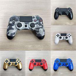 $enCountryForm.capitalKeyWord UK - All New PS4 Wireless Controller Bluetooth 4.0 Shock Joystick Mando Gamepads For PlayStation 4 DHL