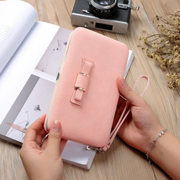 Discount cool mobile cases - Cool 2018 Women Girls Bowknot Mobile Phone Handbag Clutch Wallet Purse Long Coin Card Holder Pouch Case Organizer Portab