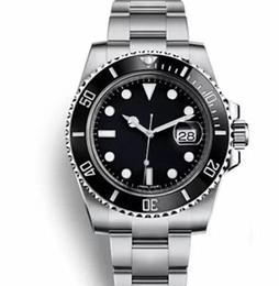 AAA Top marque de luxe lunette en céramique Mens mécanique en acier inoxydable mouvement automatique Montres montre de sport Self-wind Watch Montres