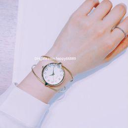 Korean Small Watch Australia - New watch ladies trend creative simple bracelet watch Korean version of the fashion small fresh female open bracelet simple female watch