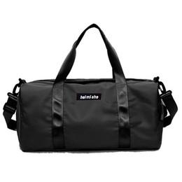 b7ddbd7e40b4 Swimming Yoga Fitness Gym Bags Dry Wet Bag Handbags For Women Shoes Travel  Training Waterproof Pink Pool Beach Duffel XA545WA