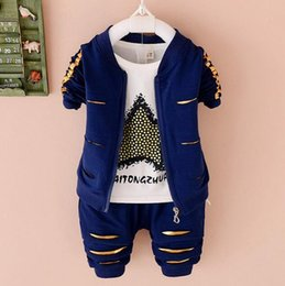 $enCountryForm.capitalKeyWord Australia - 2018 new spring and autumn season casual edition 1-4 year old baby five pointed star long sleeved trousers three children's suit tide